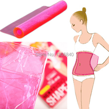 Shape-Up Belly Waist Slimming Belt Body Shaper Lose Weight Sauna Waist Belt For Essential Oil/Massaging Cream/Spa Salt 08X2G