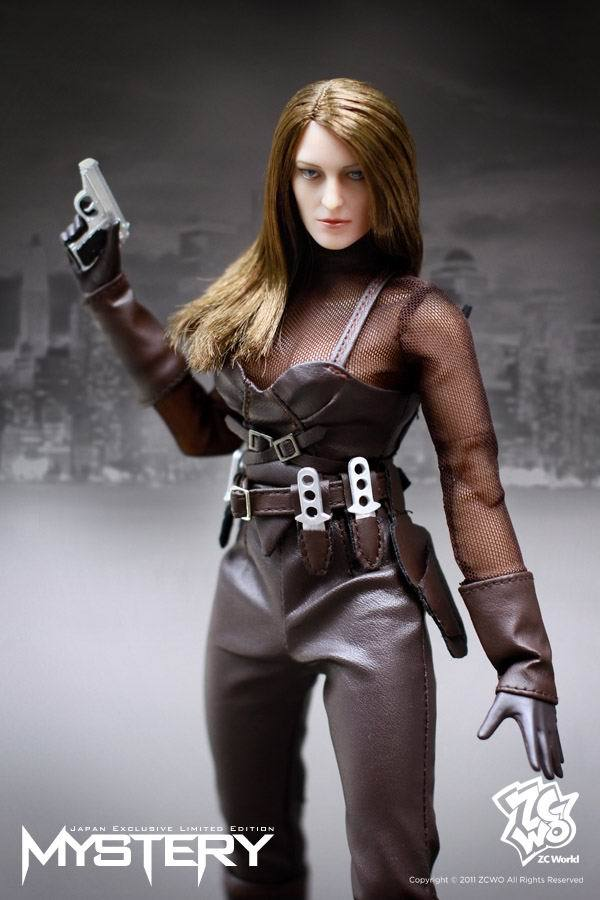 (1PCS) ZCWO 1 / 6 scale Science Fiction Mechanical female soldiers Mystery action figure new box(China (Mainland))