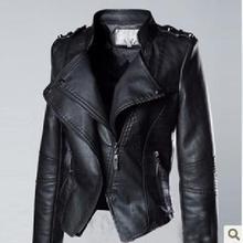 2015 New Hot! fashion big size jacket women Slim-fitting leather jacket women motorcycle genuine leather jacket coat women M-3XL(China (Mainland))