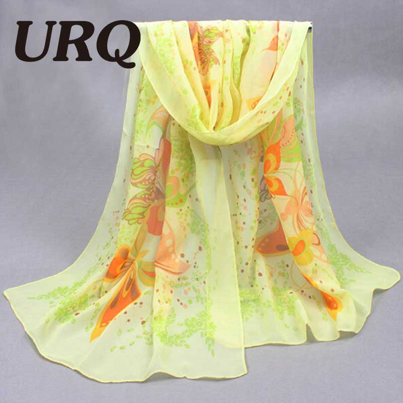 50*160cm Fashion Design Summer scarves Sweet Girl Pretty Stick Figure Butterfly woman Long scarvesP5A16396(China (Mainland))