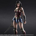 Play Arts Kai Wonder Woman Action Figures PVC Toys Dawn of Justice 260mm Anime Movie Superman