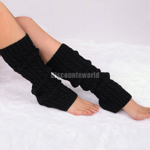 2014 Fashion Style Ladies Womens Dance Knitted Leg Warmers Stocking Legging Boot Covers 10 ColorsОдежда и ак�е��уары<br><br><br>Aliexpress