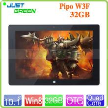Original PIPO W3 W3F Tablet PC 10.1 inch IPS 1920×1200 Windows 8.1 Quad Core 2GB RAM 32GB ROM Camera 5MP Bluetooth HDMI OTG