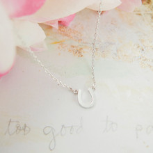 2015 Gold Silver Fashion Jewlery Mother s Day Gift Stainless Steel Tiny Horseshoe Charm Necklace for