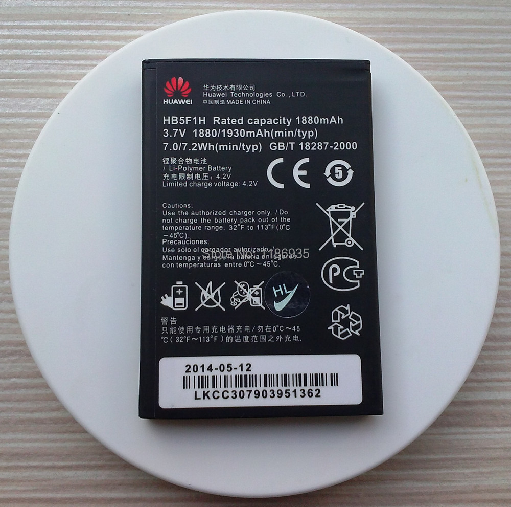Original HB5F1H Battery For Huawei Honor U8860 Glory M886 Mercury Cricket Mobile Phone Batterie 1880/1930mAh(China (Mainland))