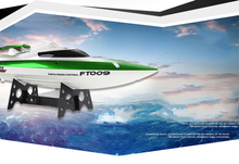 Hot Sale Feilun FT009 2.4G 4CH Water Cooling High Speed Racing RC Remote Control Boat(China (Mainland))