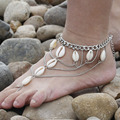 Shell Tassel Anklets For Women Ankle Bracelet On leg Barefoot Sandals Foot Jewelry Anklet Leg Bracelet
