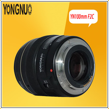 Buy YONGNUO YN100mm F/2-F/22 AF/MF 100mm Medium Telephoto Lens Large Aperture Auto Focus Lens Prime Lens Canon EOS Rebel Camera for $165.99 in AliExpress store