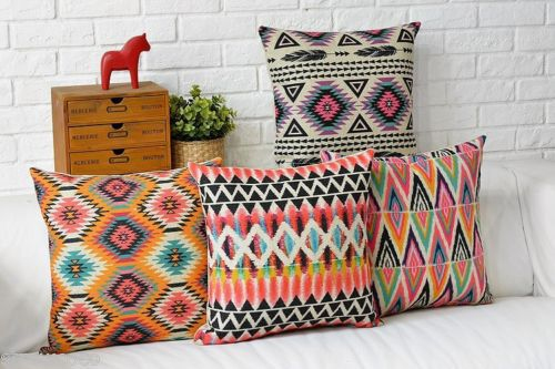 Http Www Aliexpress Com Item Aztec Geometric Cushion Cover Abstract Linen Cotton Throw Pillow Case Home Decor 43 43 32401299848 Html