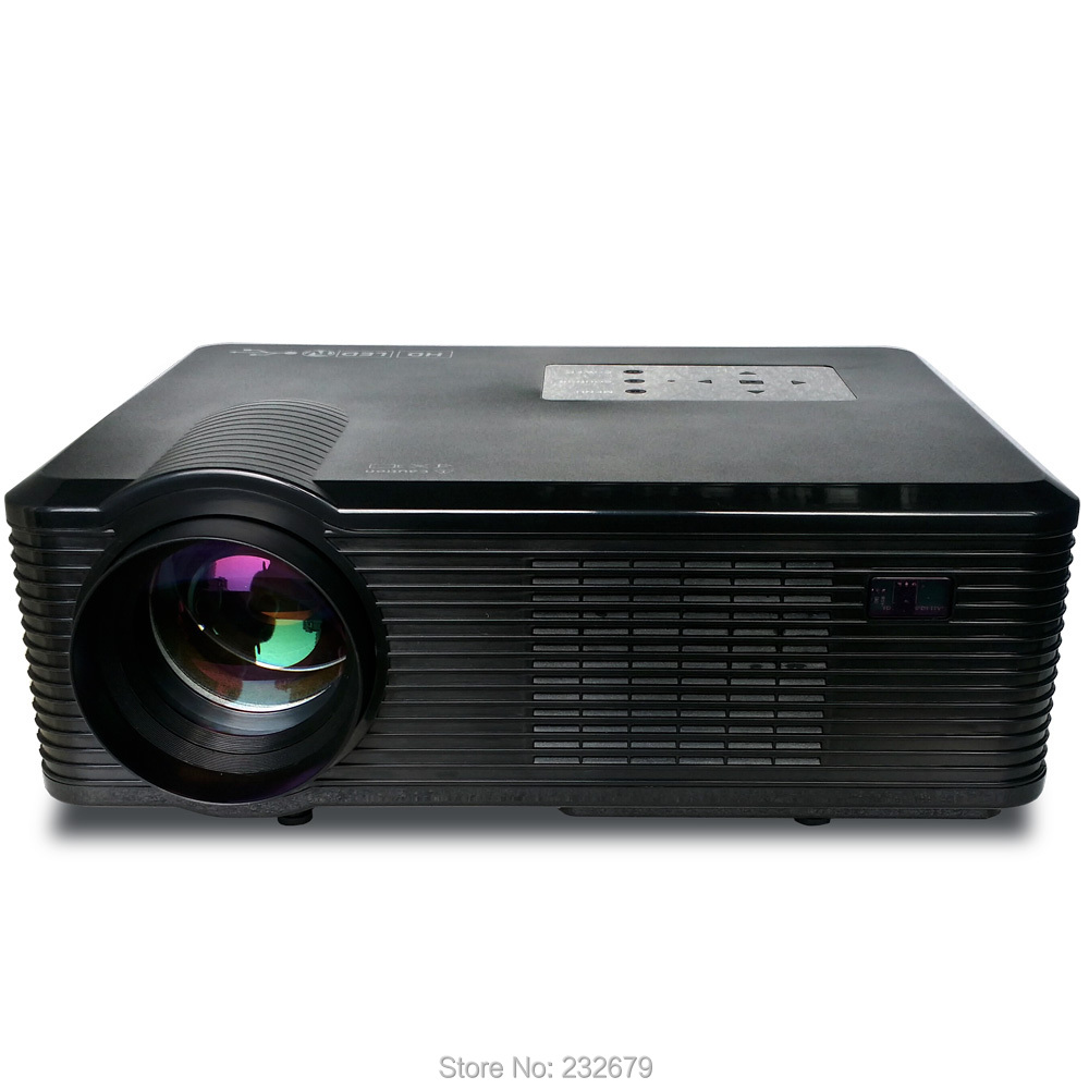 Cl740d portable led projector digital projector with2400 for Portable pocket projector reviews