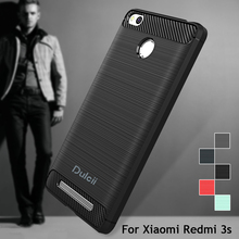 Cover for Xiaomi Redmi 3s Case for xiomi Mi max 5s Case Carbon Fibre Brushed TPU Smart Phone Cases for Xiaomi Redmi 3 s PhoneBag(China (Mainland))