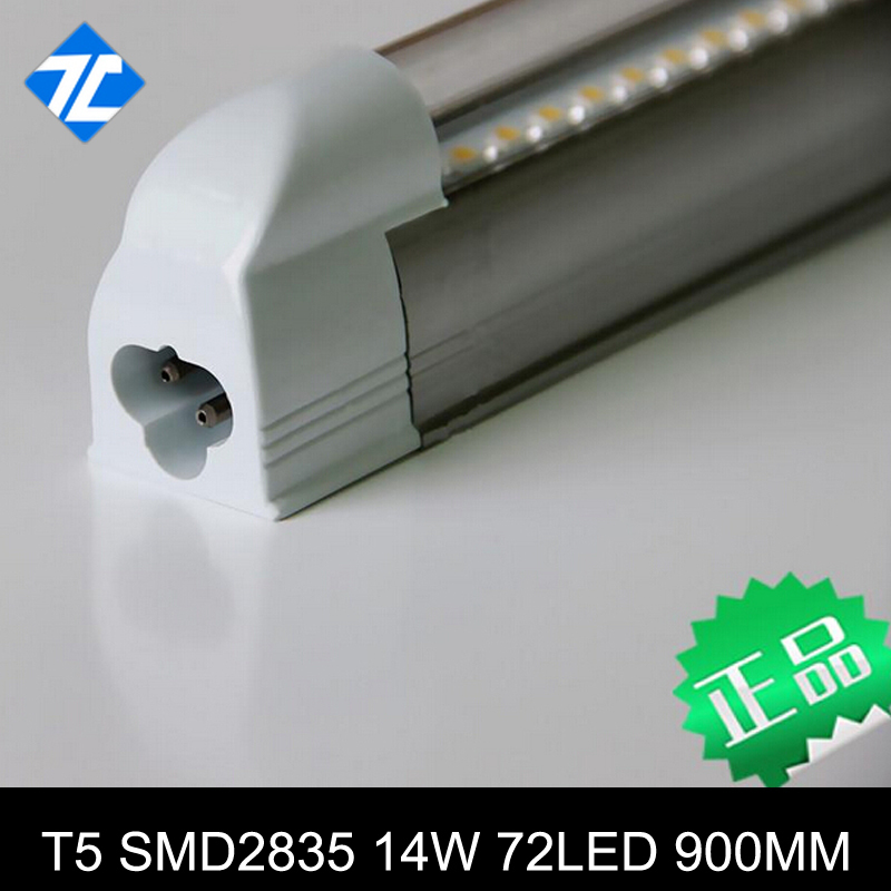best price LED tube T5 900mm 0.9M 3ft 14W high lumens two years warranty(China (Mainland))