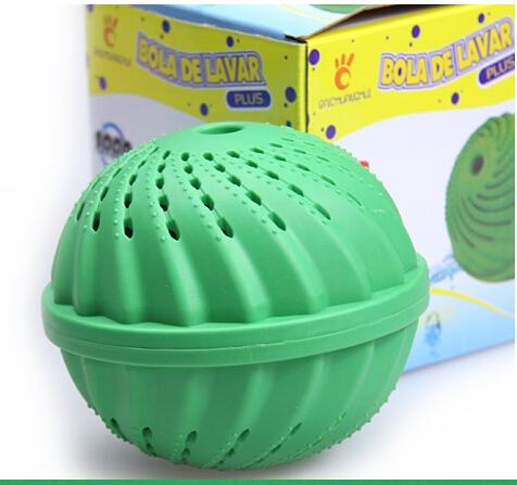 Hot Magic washing ball Decontamination laundry ball for whole sale and retail box AF182(China (Mainland))