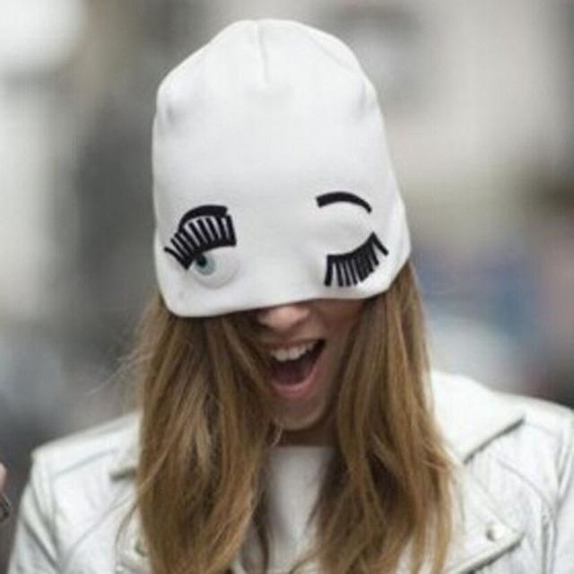 Skullies и шапочки новинка хип-хоп женщин зимняя шапка шапка женский трикотажные ...