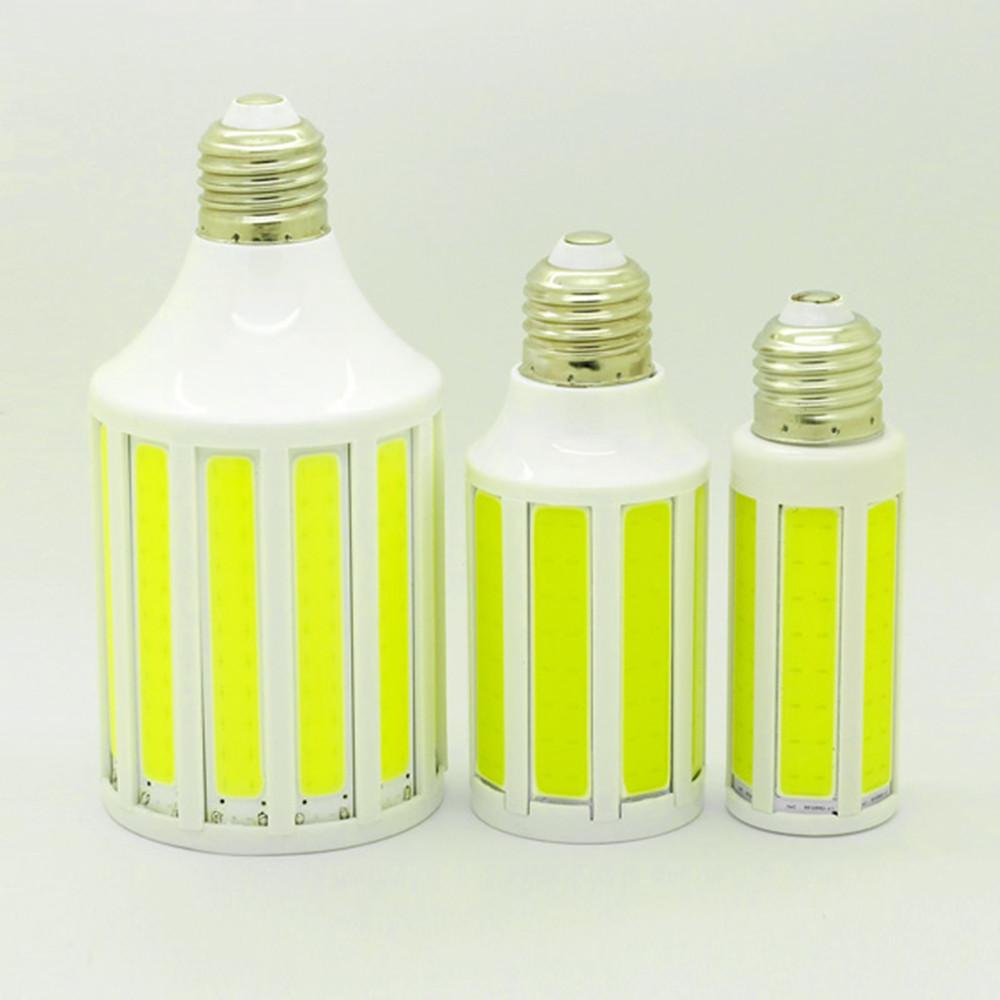 Super Bright Bombillas COB LED Corn Lamp 220V E27 Bulb Replace Compact Fluorescent Light 15W 20W 30W Chandelier Lamparas(China (Mainland))