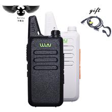 Buy Mini Walkie Talkie 400-470Mhz Frequency UHF Handheld Radios Comunicador Two Way Radio Mini Walkie Talkie Hotel+Hair Salon for $17.99 in AliExpress store