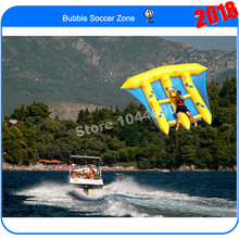 Free shipping 4*3m fish flying boat water fly for water games(China (Mainland))