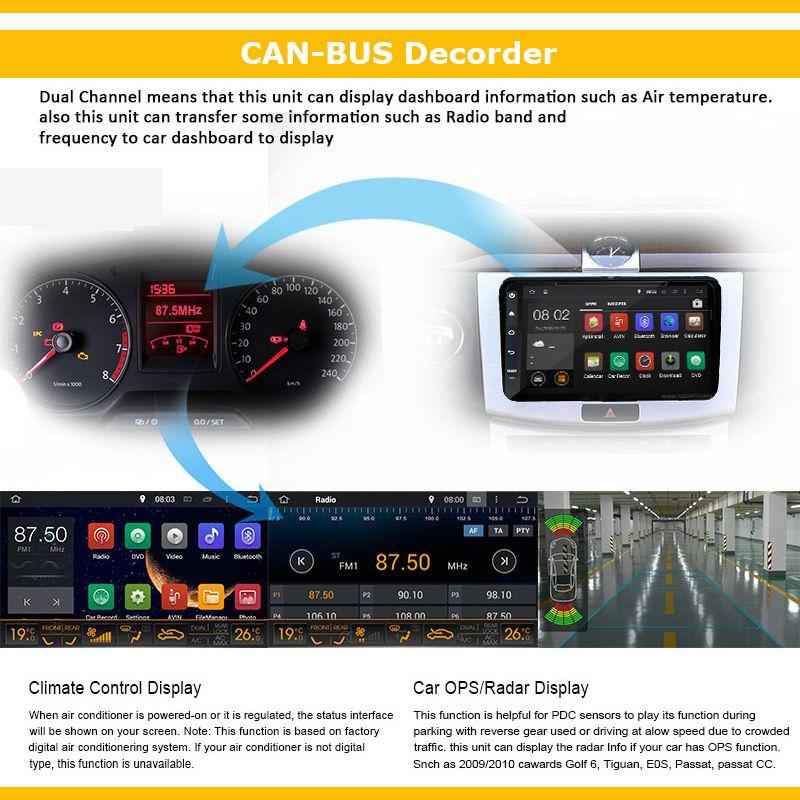 2 din Android 4.4 car radio gps OEM radio rns510 VW passat b6 golf 5 polo jetta Quad core 7 inch 1024*600 HD screen car stereo