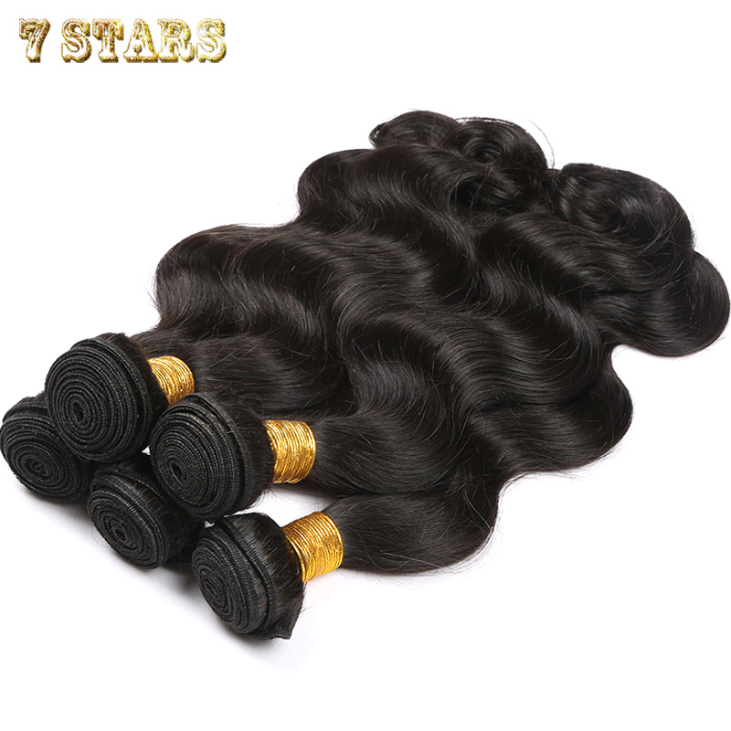 100% Peruvian Virgin Unprocessed Human Hair Extensions Natural Color 8-30inches 4pcs/lot Body Wave Weave Hair Weft Free Shipping