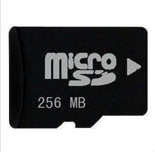 Free shipping 20pcs/ lot 256MB micro SD CARD transflash card 256MB TF card(China (Mainland))