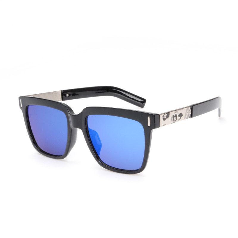 Brand Unisex Retro Square Sunglasses BAPE Camouflage Lens Vintage Eyewear Sun Glasses Men Women Lentes de sol  -  Dress U UP store
