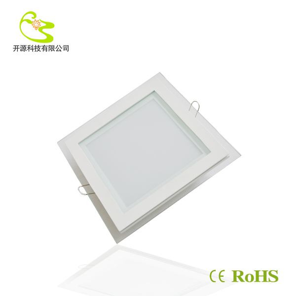 Free shipping High Quality 5730 SMD 15w led panel light Glass cover 1350lm 85-265v Led panel light lamp in door(China (Mainland))