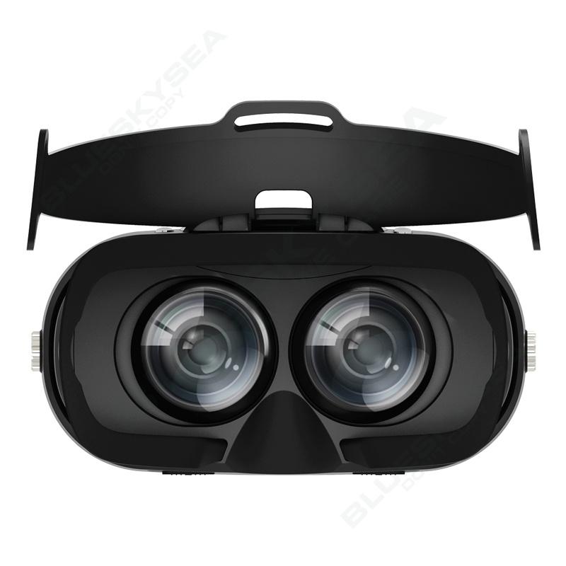ถูก จัดส่งฟรี! VRความจริงเสมือนแว่นตา3DชุดหูฟังWifi +บลูทูธควบคุมสำหรับโทรศัพท์Android