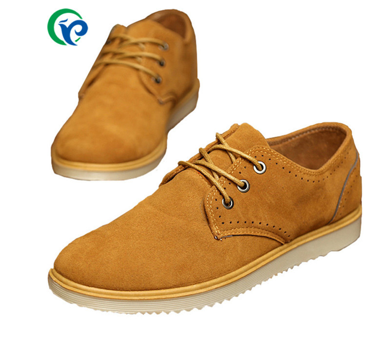 2016 Spring Autumn Fashion Men Shoes Casual Soft Shoes Rubber Sole Lace Up Men Ankle Boots Men Shoes Flats Heels Size 39-44
