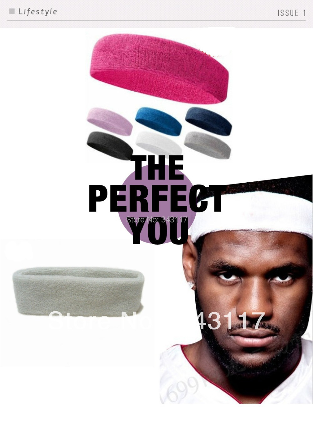 Yoga Fashion Sports Gym Fitness Headband Hair band Hair accessories Free Shipping 4pcs(China (Mainland))
