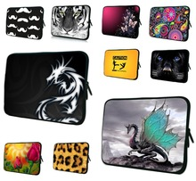 "China Dragon Laptop Sleeve Case Bag + Handle 11.6"" 12"" 12.1"" inch Computer Notebook Cover Pouch Bags For Microsoft Surface Pro 3(China (Mainland))"