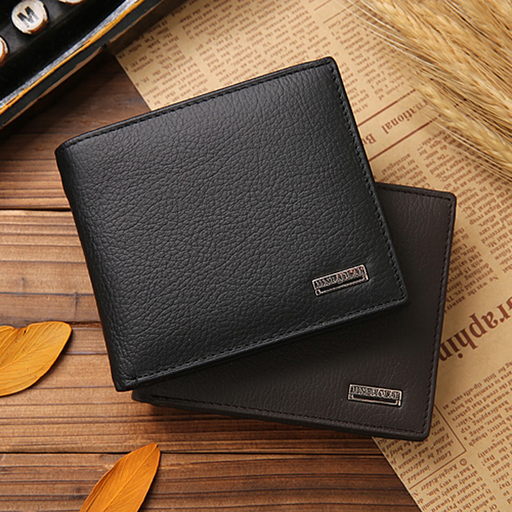 hot sale new fashion men leather wallets luxury brand man clutch purse vintage male business credit ID card money clip pocket <br><br>Aliexpress