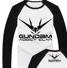 GUNDAM RX-0 Unicorn MSN-06S Sinanju RX-0 Banshee NZ-666 Kshatrya anime product o-neck long sleeve t shirt cosplay costume