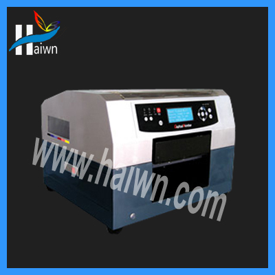 color stickers printing machine Candle printing machine Haiwn-400 for promotion gifts(China (Mainland))