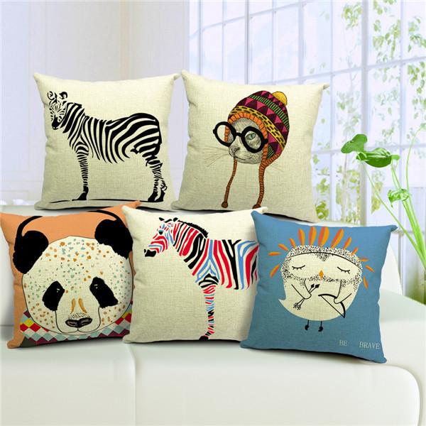 Чехлы на подушки дивана своими руками