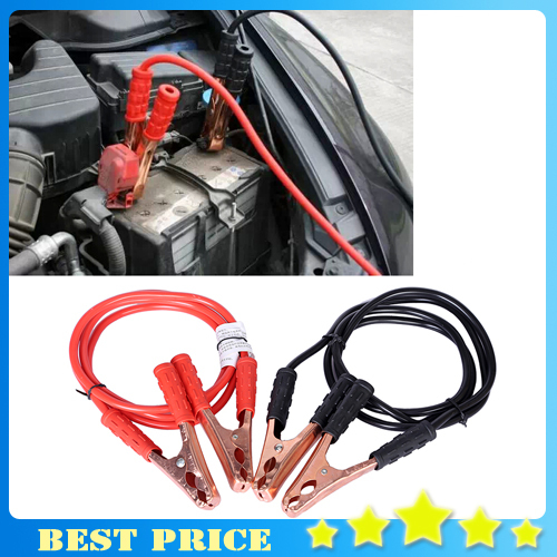 Free Shipping Car ride FireWire Emergency Battery Power Line Booster Cable Auto for ford volkswagen Car Styling car accessories(China (Mainland))