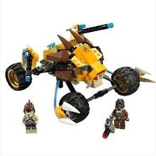 Nueva Bela 10054 oro carro de guerra bloques de construcción 233 unids/set ladrillos Compatible con Decool juguetes para los niños