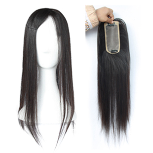 Free Shipping, Full hand made Invisible real human hair wig real hair piece<br><br>Aliexpress