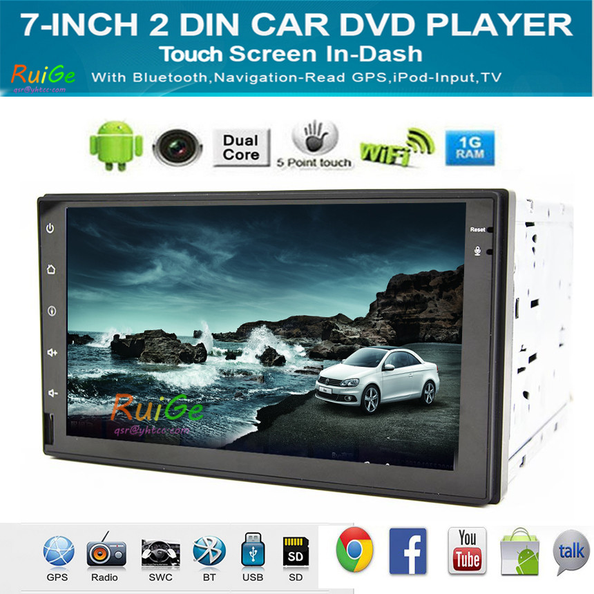 dual Core Android4.4 New 8 Inch 2 DIN 800*480 Car DVD GPS For VW Passat B6 / B7 / Passat CC with WiFi and free 8G Card and Map()