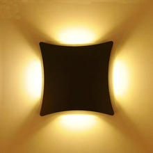 12W Led outdoor wall lamp ,IP65 Surface Mounted Outdoor  Led wall light up and down wall light Villa lights Creative Y-55(China (Mainland))
