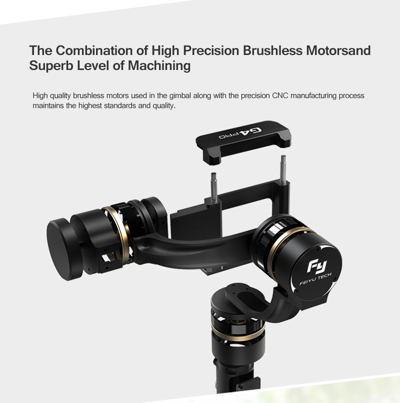 Feiyu Tech FY G4 pro 3 axis brushless handheld gimbal for smartphone iphone PK Feiyu G4 PRO zhiyun smooth c 2 For iphone 7