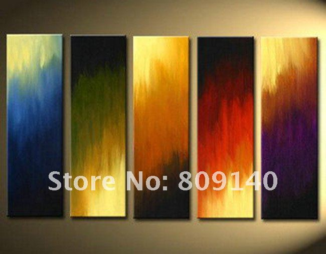 Abstract oil painting canvas artwork quality handmade for Modern artwork for home