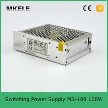 100 Вт 6.7A из светодиодов питания 15 В 100 Вт MS-100-15 один выход тип небольшой размер металл чехол с сертификацией CE