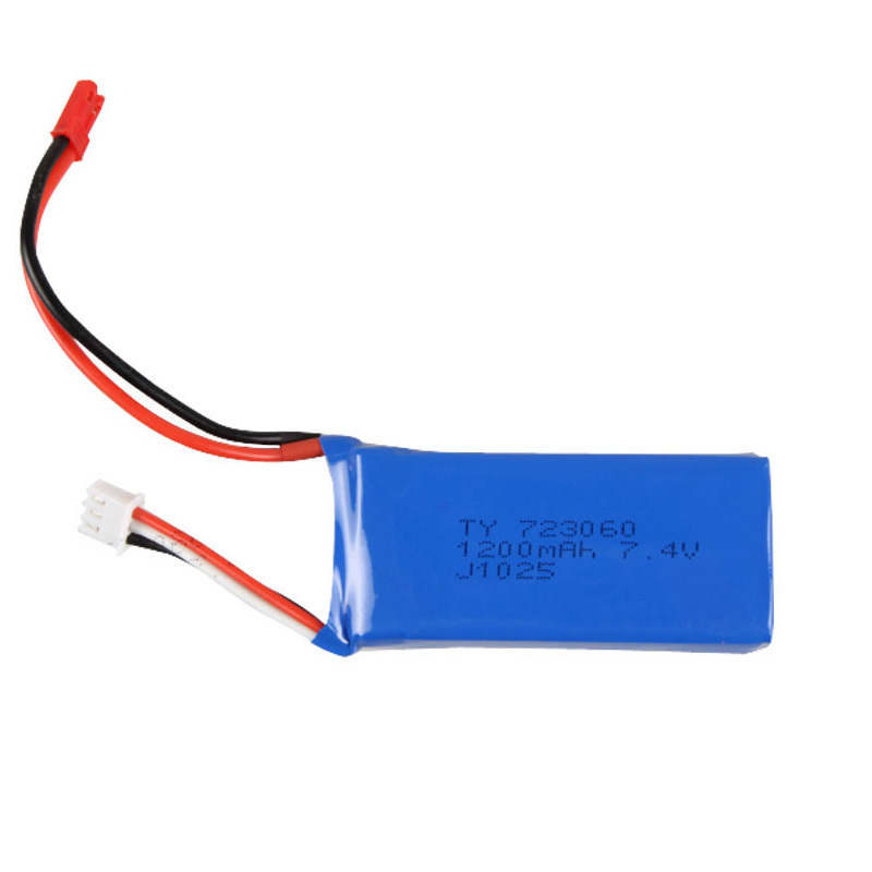 7.4V 1200mAh Lipo Battery for Yi Zhan Tarantula X6  or JJRC H16 RC Quadcopter Spare Parts Accessory for Helicopter Extra Battery<br><br>Aliexpress