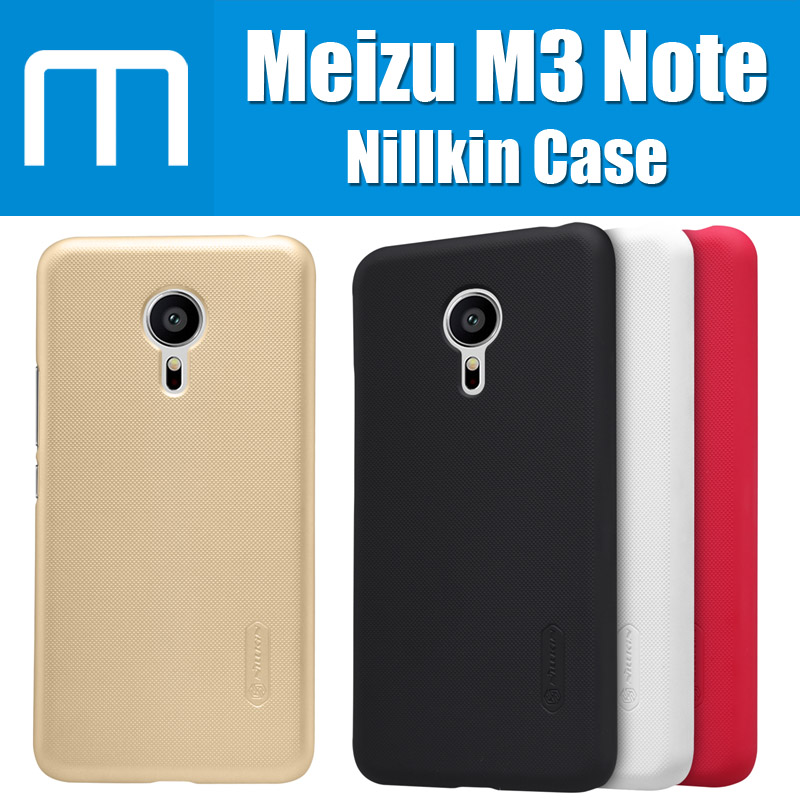 MT6755M M3 Note original Nillkin Super Matte Shield for Meizu M3 Note Case with screen protector and retail package