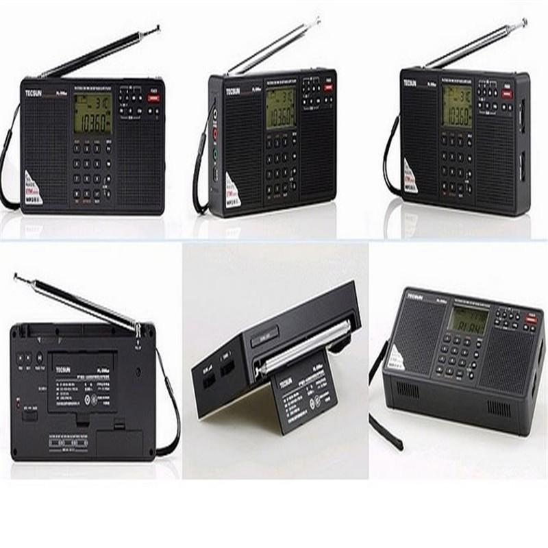 ถูก T ecsun PL-398MP MP3วิทยุเต็มยี่ห้อดิจิตอลจูนรับสเตอริโอที่มีฟังก์ชั่นMP3และนาฬิกา