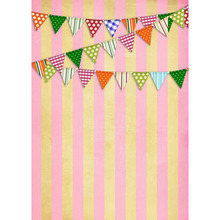 Free shipping 5x7ft vinyl backdrop flag backgrounds for photo studio children shooting Computer Painted Backdrops P0616