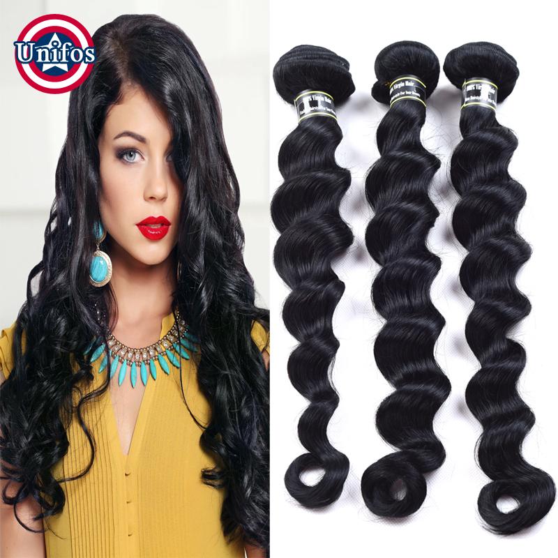Jet Black Peruvian Hair Weave Bundles Loose Wave 3 pieces 100 Percent Human Hair Extension Cheap Peruvian Loose Wave Virgin Hair<br><br>Aliexpress