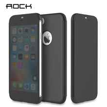 For iPhone 7 iPhone 7 Plus Case Rock Dr.V Luxury View Full Window Smart Flip Phone Bag Cases Cover For Apple iPhone 7 / 7 Plus(China (Mainland))