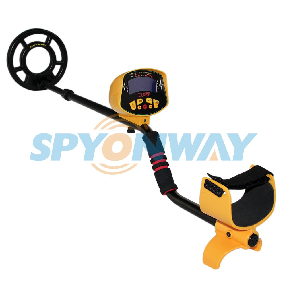 MD3010II Metal Detector Undeground Professional Metal Detector Gold Digger Treasure Hunter with LCD Display and Target Identity<br><br>Aliexpress