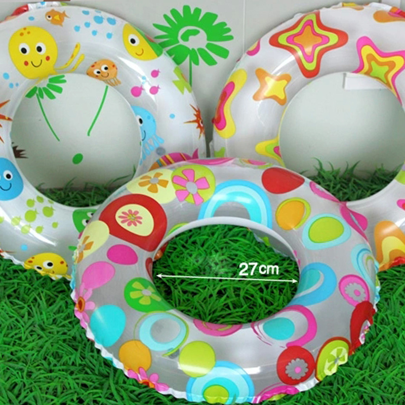 2015 Summer Style Kids Inflatable Swimming Pool Accessories Flotador Fish Star Flower Baby Float Ring for Children(China (Mainland))